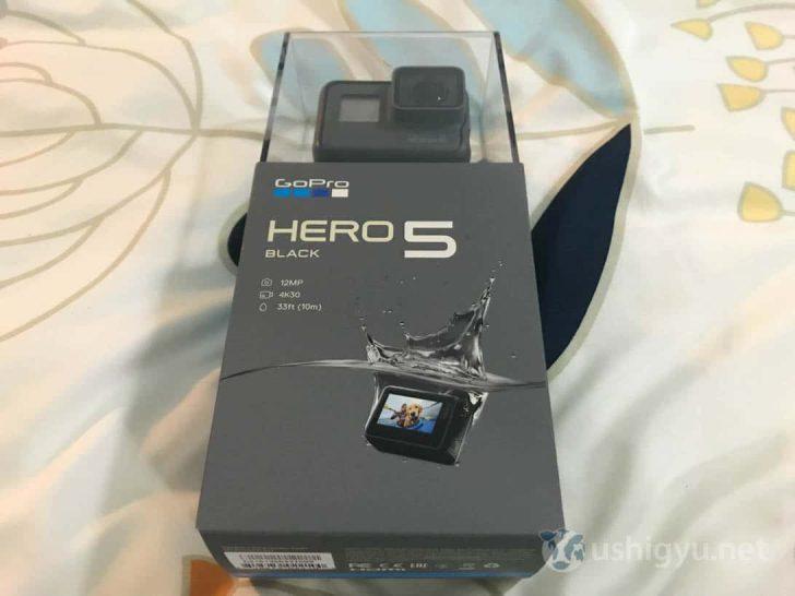 GoPro HERO5 本体パッケージ