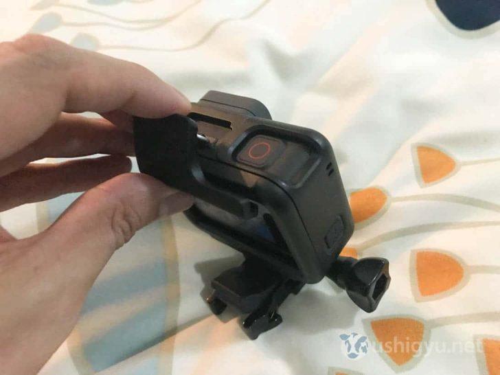 GoPro HERO5 マウント用バックル取り外し