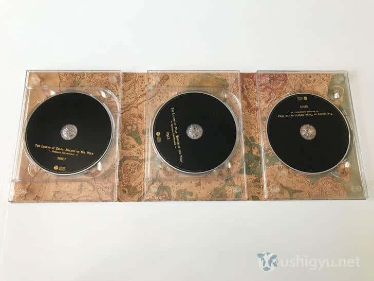 ゼルダの伝説BoTWサウンドトラック 5枚組CD