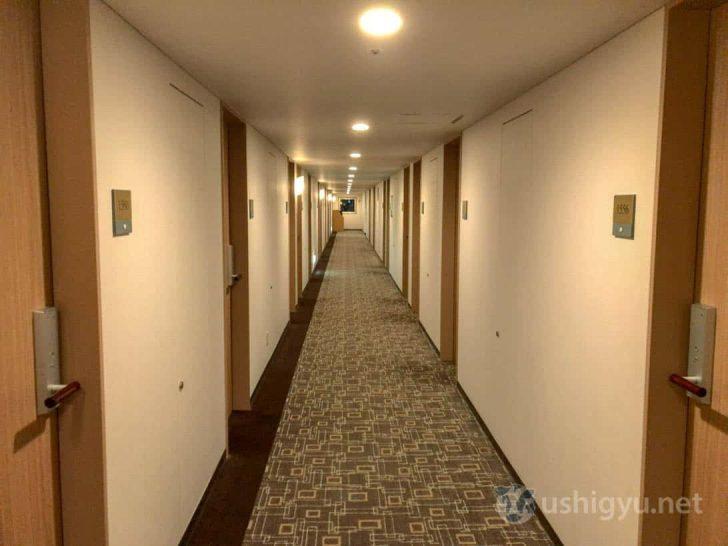横浜桜木町ワシントンホテル:廊下