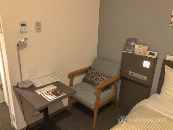 横浜桜木町ワシントンホテル:デスクと椅子