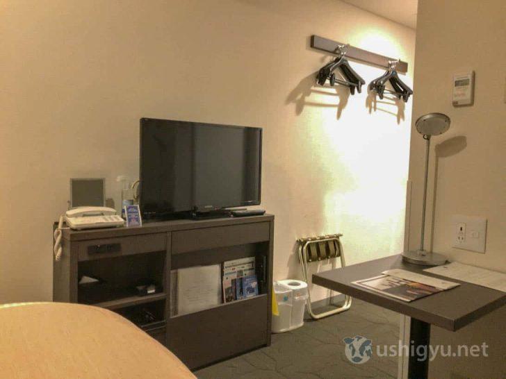 横浜桜木町ワシントンホテル:テレビなど