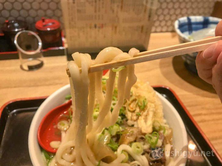 ニュー因幡のうどん麺