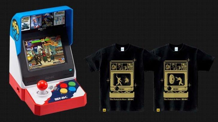 NEOGEO miniとオリジナルTシャツのプライムデー限定セット