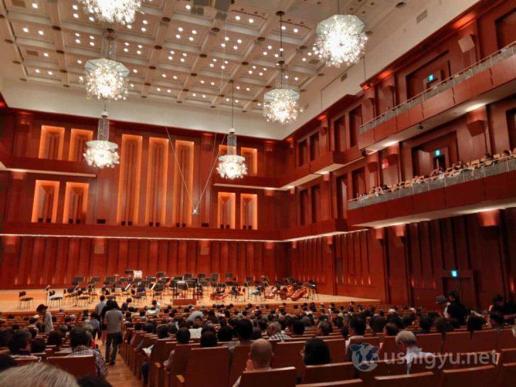 プラハ放送交響楽団のクラシックコンサート会場