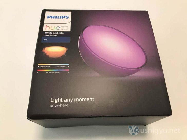 床置き型スマート照明Hue go