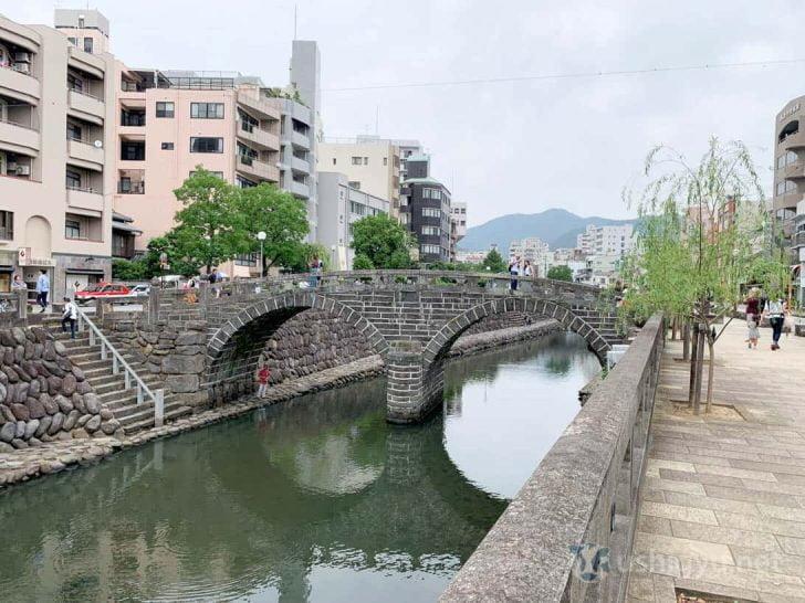長崎の観光スポット眼鏡橋
