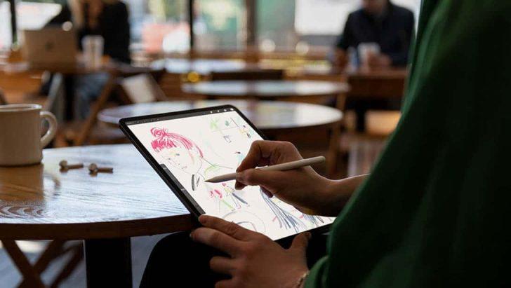 iPad Proでデザイン、お絵描き
