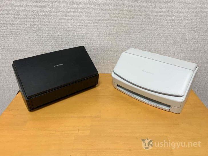 ブラックなiX500とホワイトのiX1500
