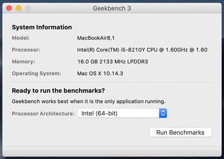 MacBook Airのスペック