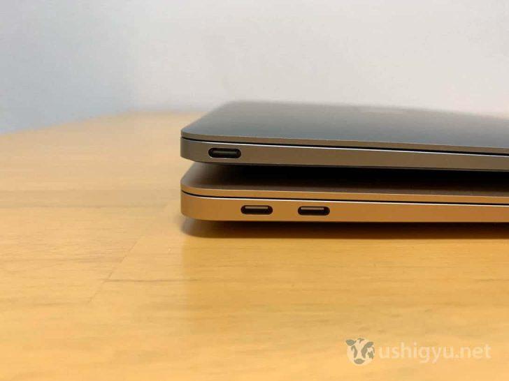新MacBook AirにはUSB-Cポートが2つ
