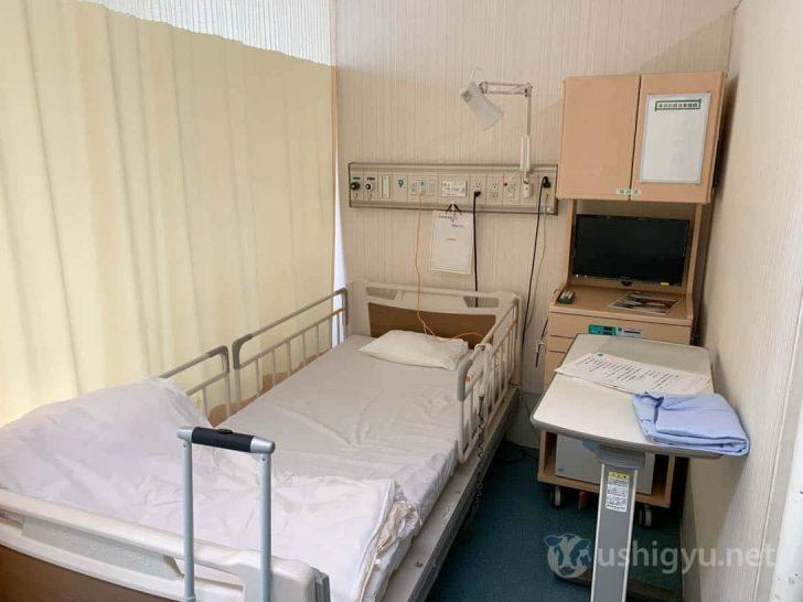 私が入院した病室
