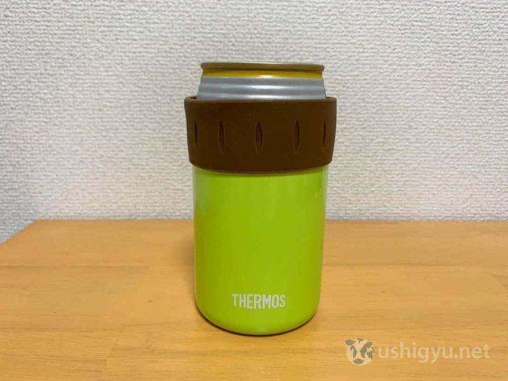 サーモスの真空断熱保冷缶ホルダー