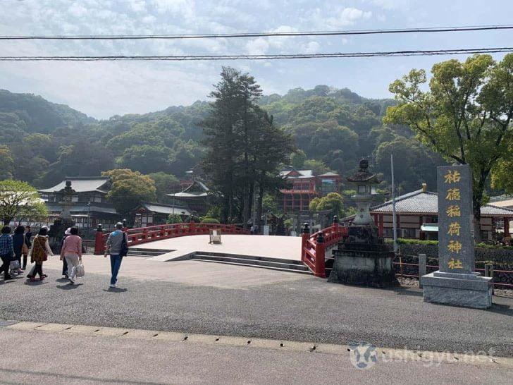 祐徳稲荷神社エントランス