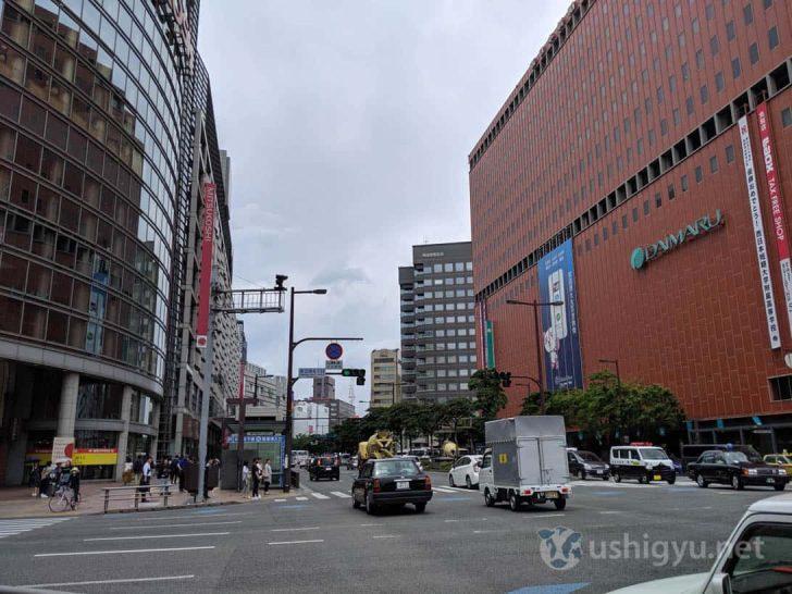 Pixel 3aで渡辺通りを撮影
