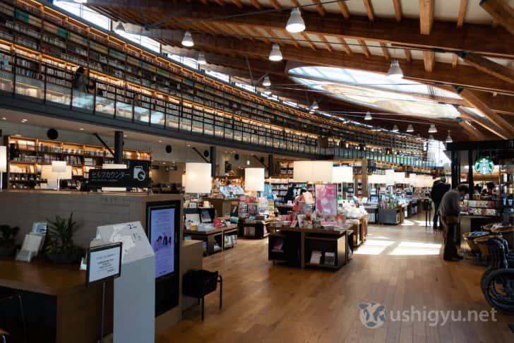 日本の図書館にはあまりないデザインの武雄市図書館