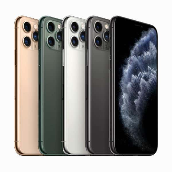 iPhone 11 Proは4色展開