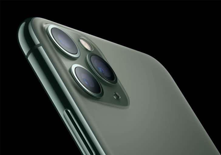 iPhone 11 Proのタピオカトリプルカメラ