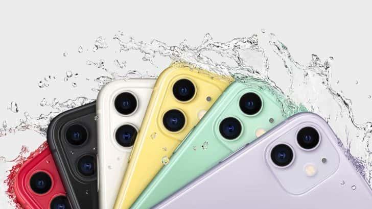 カラーバリエーション豊富なiPhone 11