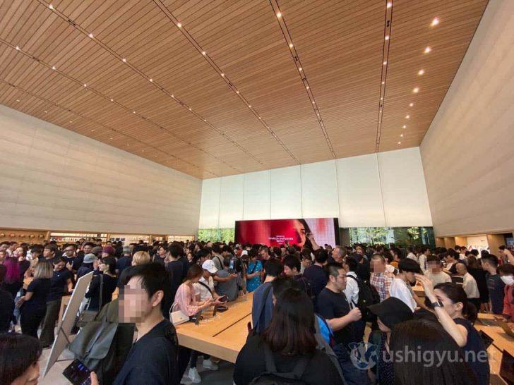 真ん中に見える巨大なスクリーン(ビデオウォール)は日本最大