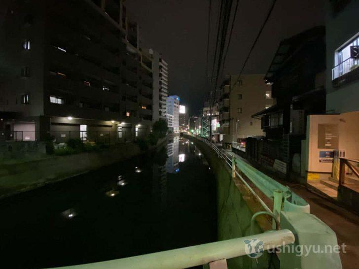 iPhone 11超広角(橋の上から)