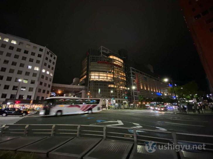 iPhone 11超広角(渡辺通り)