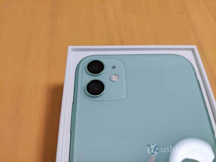 iPhone 11の大きな特徴であるタピオカデュアルカメラ
