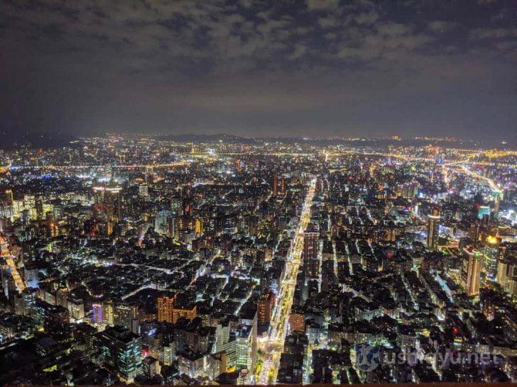 Pixel 3a夜景モード