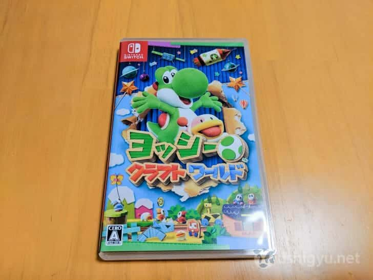 Nintendo Switchソフトのパッケージ版
