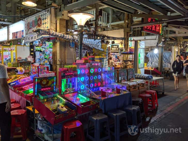台湾の夜市でよく見る謎のゲームたち
