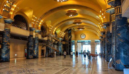 和歌山・白浜「ホテル川久」バブルの香り漂う奇妙でゴージャスなホテル。贅沢ディナー・王様のビュッフェもおいしい!