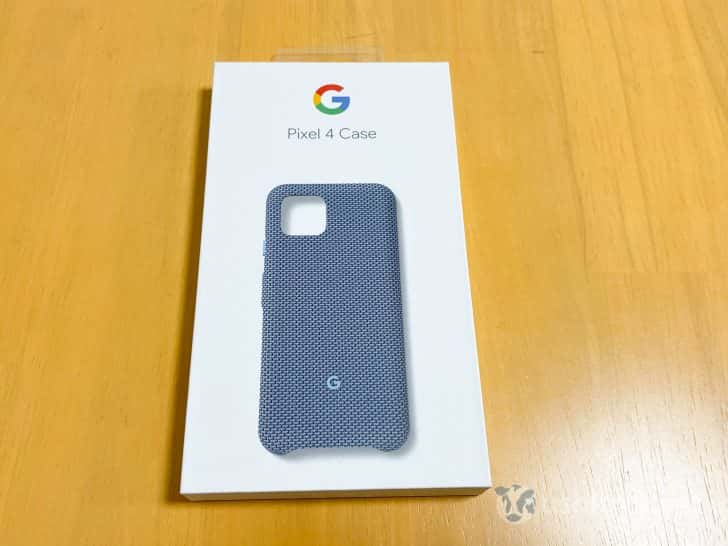 Google Pixel 4純正ファブリックケース