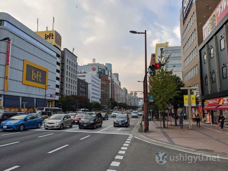 日中の市街地_Pixel 4