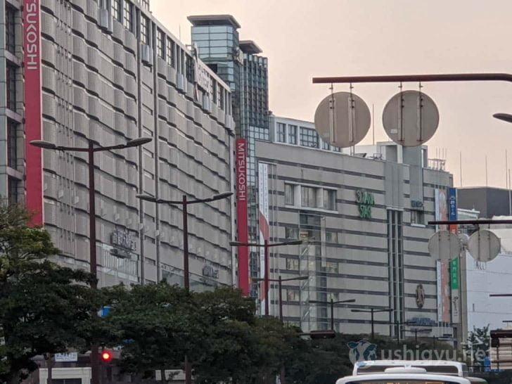 日中の市街地ズーム_Pixel 4