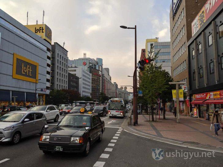 日中の市街地_Pixel 3a