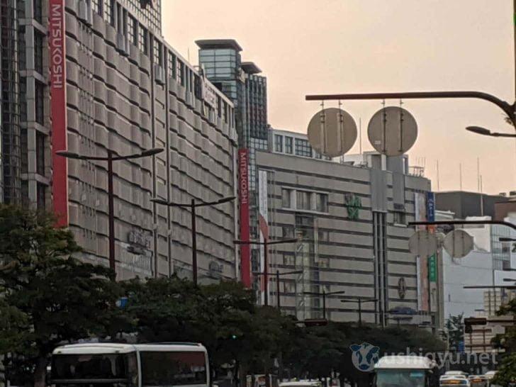 日中の市街地ズーム_Pixel 3a