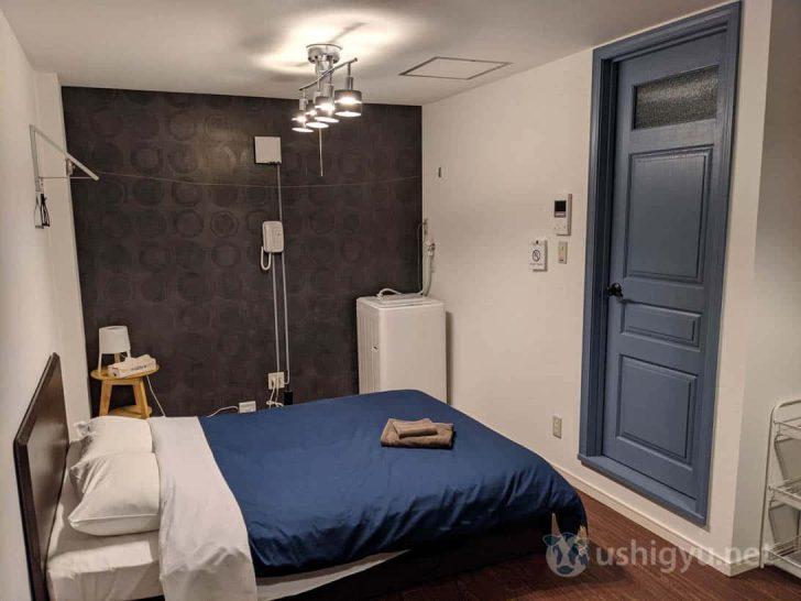 きれいなマンションの一室といった感じで、1〜2人で泊まるには文句のない部屋