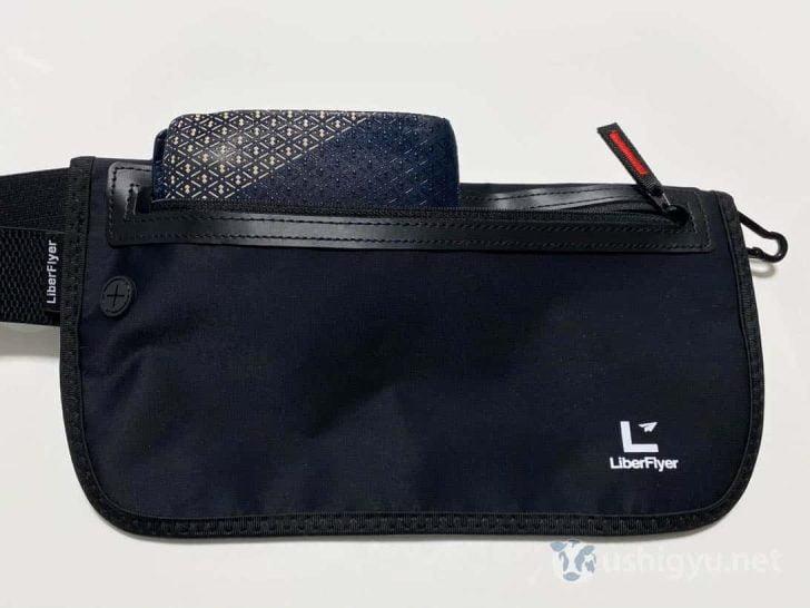 今回のサイズアップにより、長財布も余裕で入るサイズに