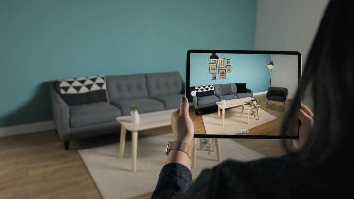 iPad ProのLiDARスキャナでARがより使いやすく