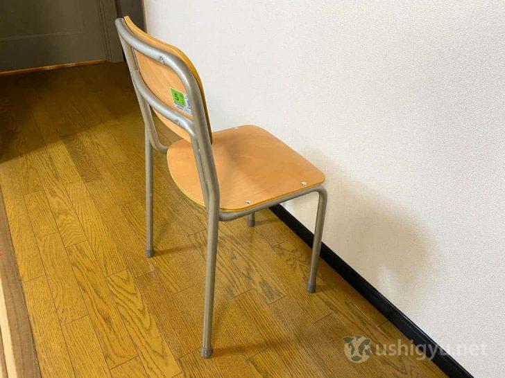机と同じく旧JIS規格で2号、新規格で5号サイズのイス
