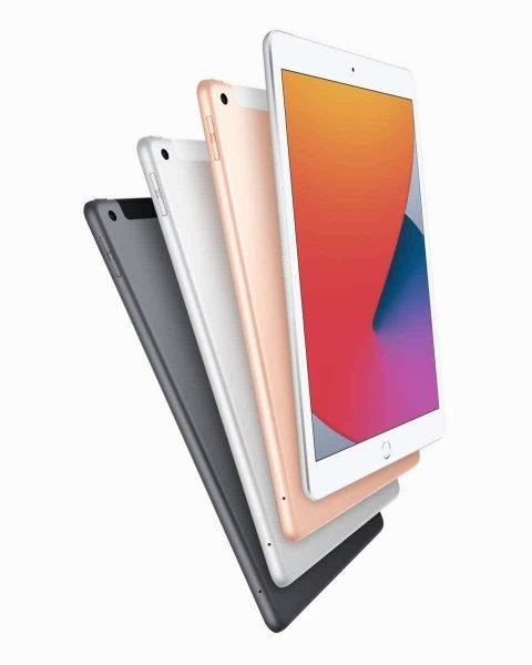 3色展開のiPad第8世代