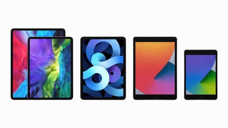 iPad AirやPro、miniなど現行iPadを詳しく比較