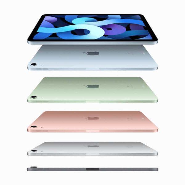 iPad Airは5色のカラーバリエーション