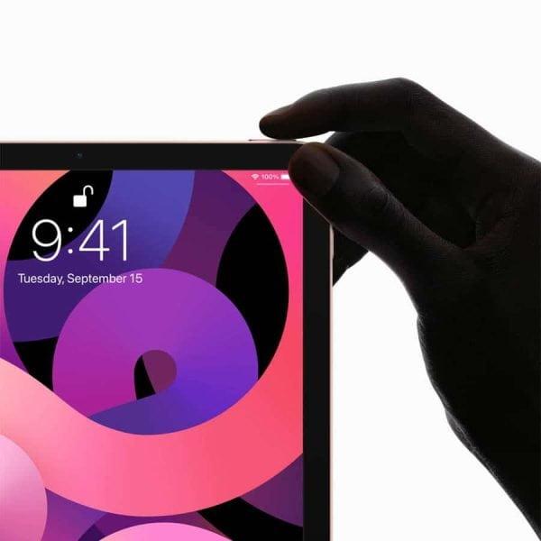 トップボタン内蔵Touch IDを備えたiPad Air