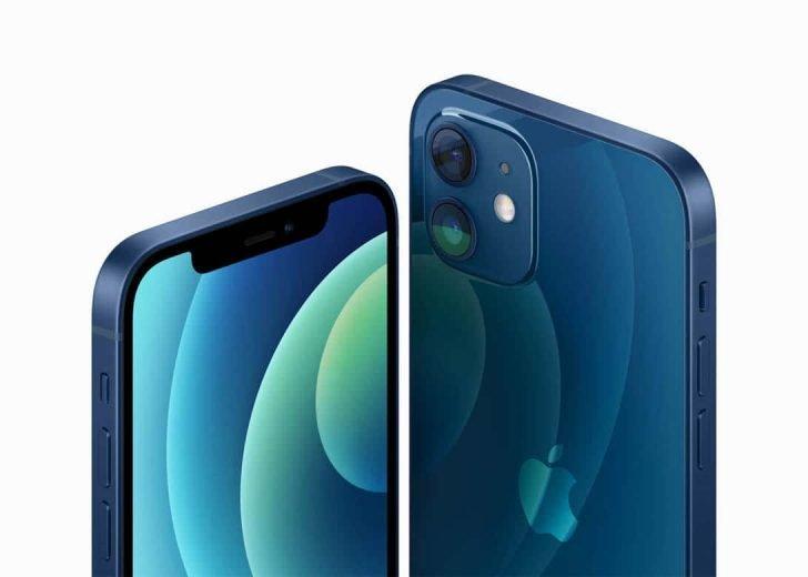 iPhone 12 ブルー