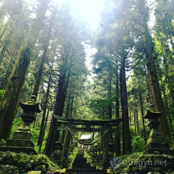 熊本・南阿蘇の高森町にある「上色見熊野座神社」