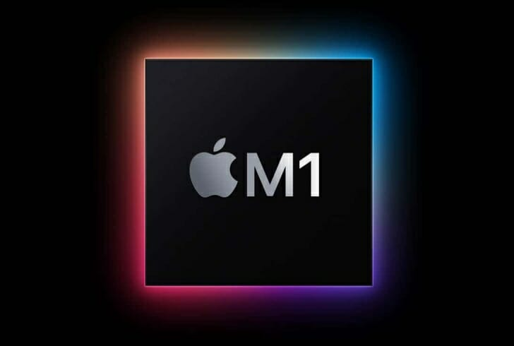 Apple独自開発のM1チップ