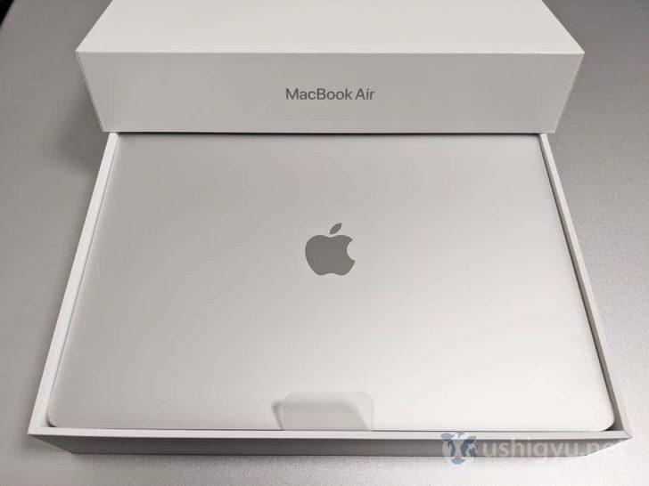 Apple M1がはじめて搭載されたMacBook Airということで原点回帰のシルバーを