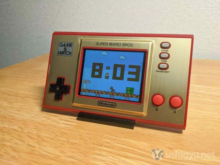私のゲーム&ウオッチオススメの使い方は「置き時計」