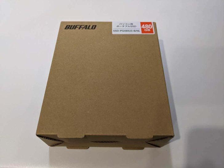 バッファローの480GBポータブルSSD